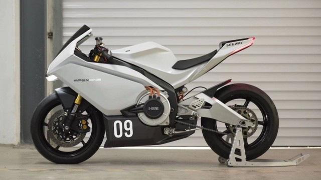 """Xe mô tô điện Trung Quốc """"nhái"""" huyền thoại Aprilia RS125, thông số khó tin, giá bán đắt đỏ - Ảnh 2."""