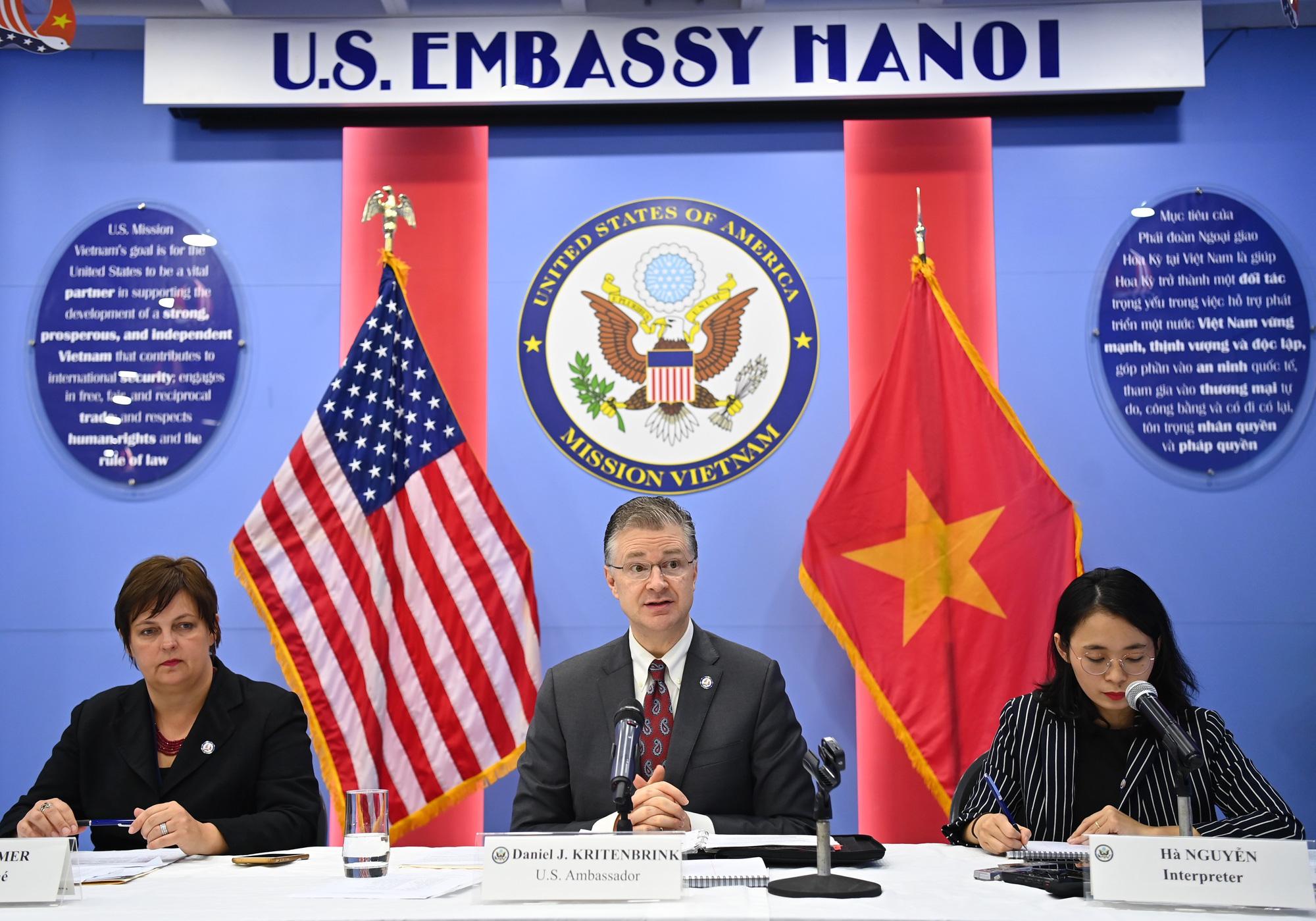Đại sứ Mỹ: Tôi kính trọng Việt Nam và các nhà lãnh đạo Việt Nam - Ảnh 1.