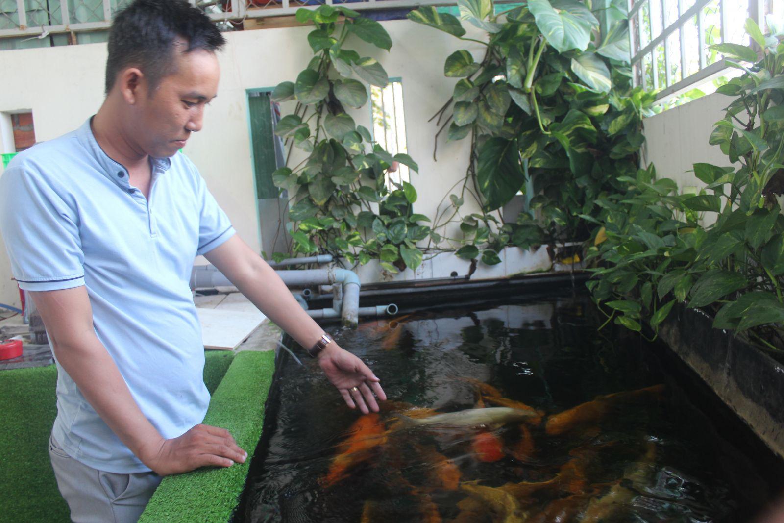 Long An: Nuôi thú cưng, cá kiểng độc, lạ-trào lưu sôi nổi  - Ảnh 1.