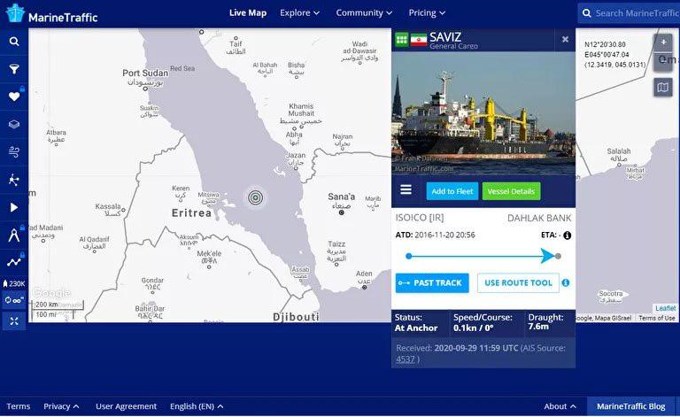 Tiết lộ chuyện khủng khiếp xảy ra với tàu Iran trên Biển Đỏ - Ảnh 1.