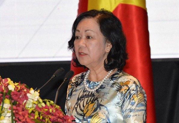 Ủy viên Bộ Chính trị Trương Thị Mai trở thành nữ Trưởng Ban Tổ chức Trung ương đầu tiên - Ảnh 1.