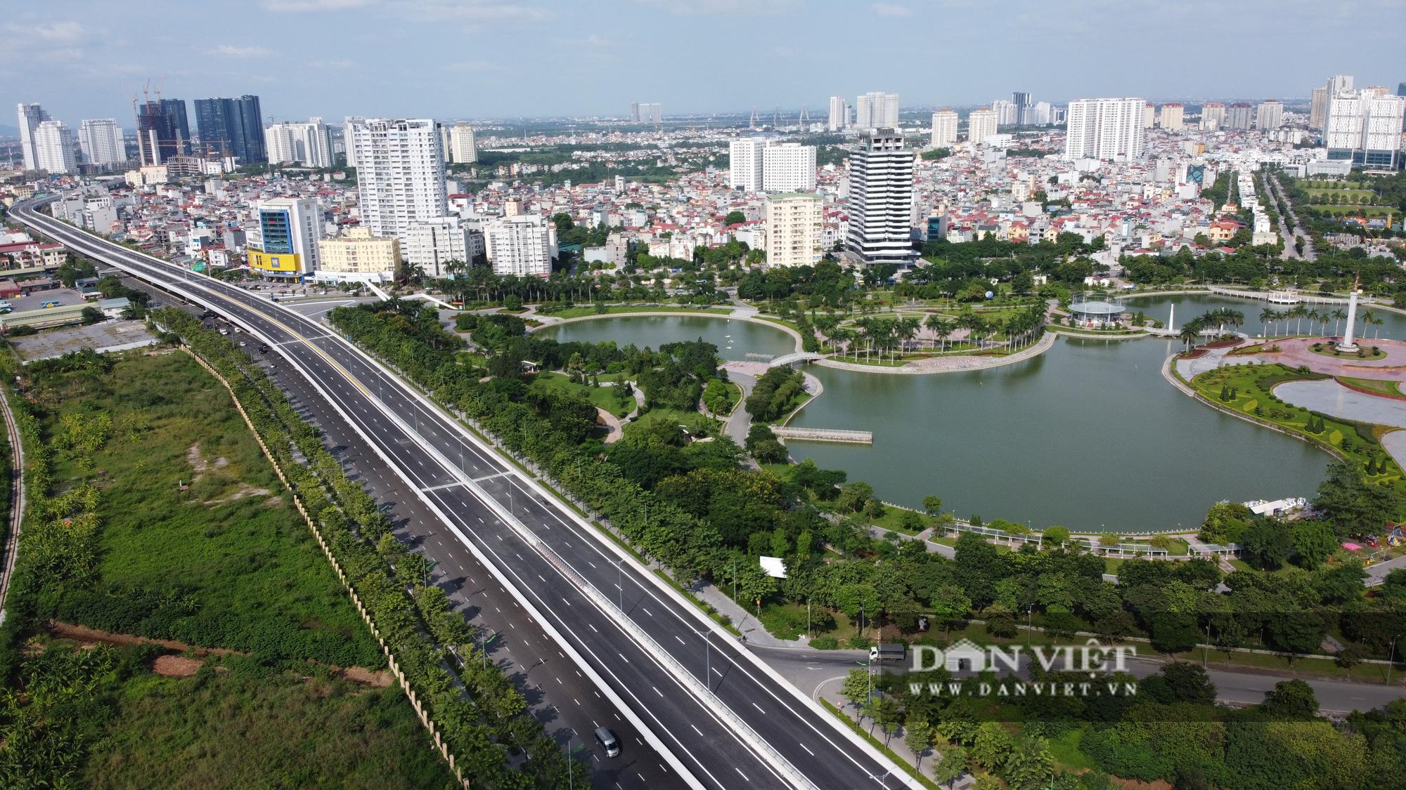 Điểm mặt những tuyến đường nhiều tầng cây xanh ở Hà Nội - Ảnh 1.