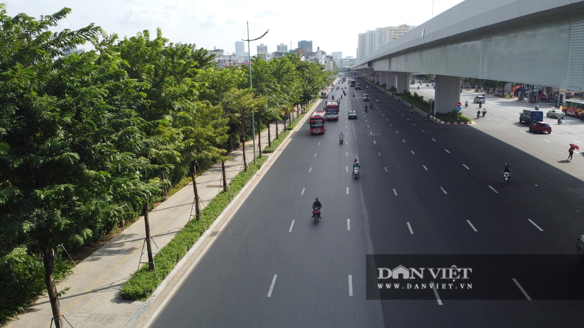 Điểm mặt những tuyến đường nhiều tầng cây xanh ở Hà Nội - Ảnh 4.
