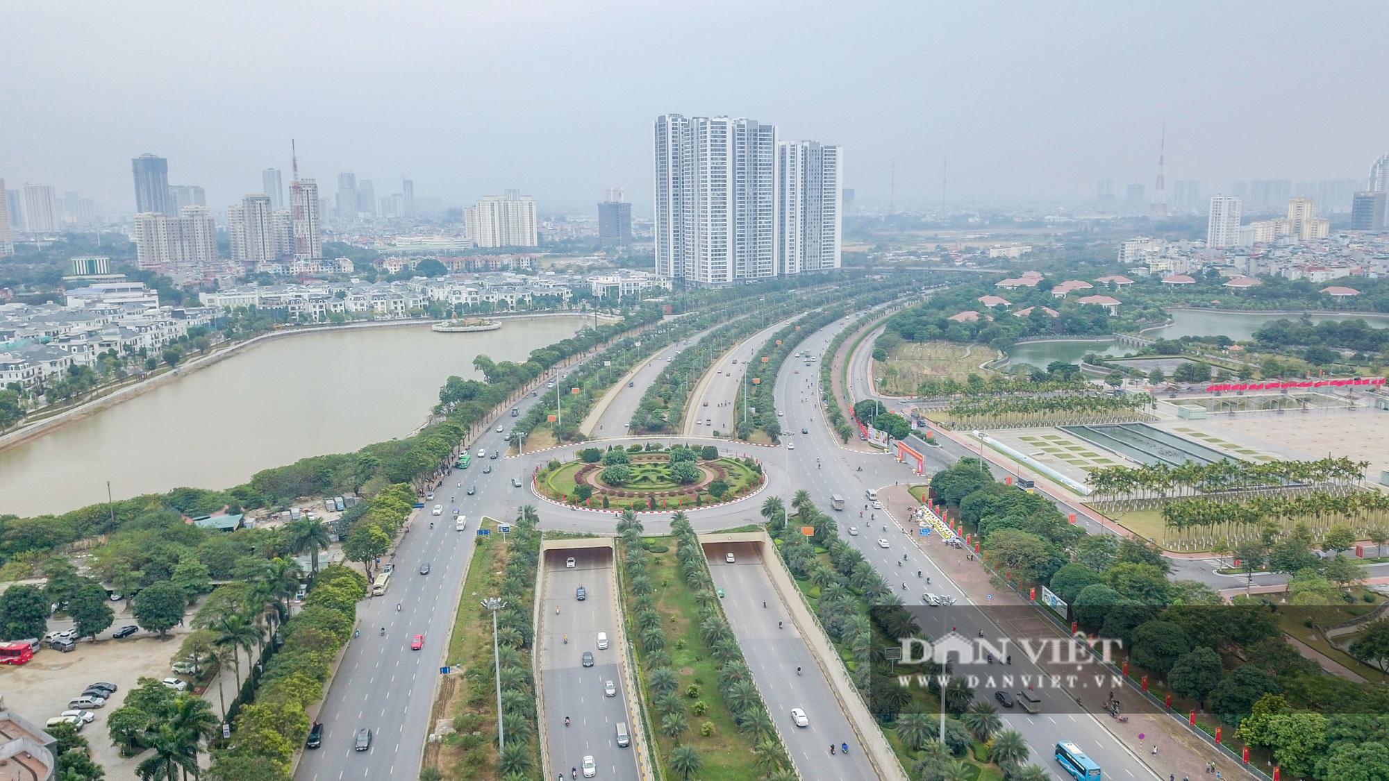 Điểm mặt những tuyến đường nhiều tầng cây xanh ở Hà Nội - Ảnh 10.