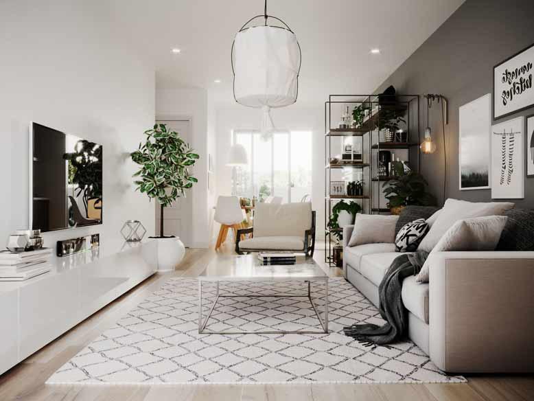 Xu hướng thiết kế nội thất nhà phố hiện đại, ấn tượng - Ảnh 1.
