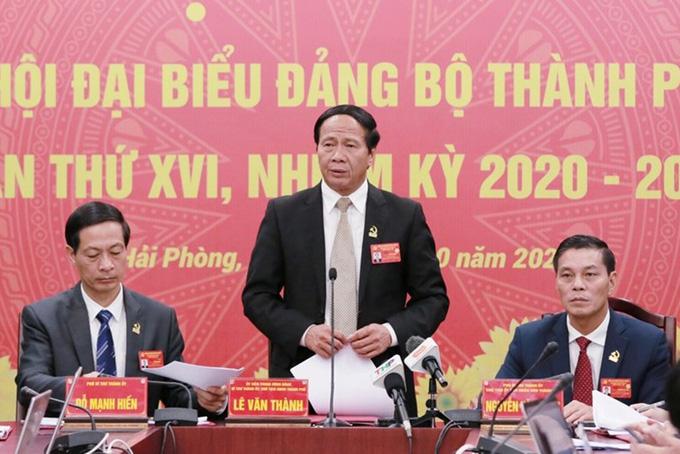 Những dấu ấn của Bí thư Thành ủy Lê Văn Thành ở Hải Phòng  - Ảnh 1.