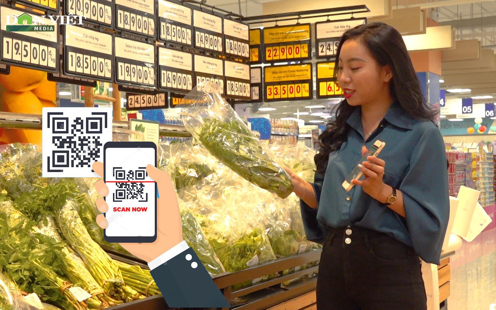 Gắn tem truy xuất nguồn gốc – lợi ích của người tiêu dùng