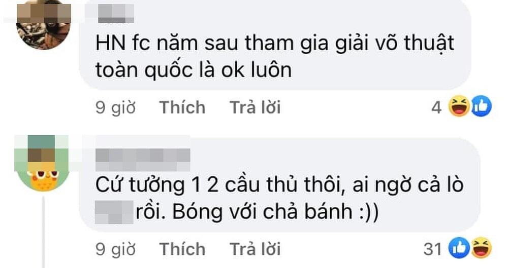 Hà Nội FC của bầu Hiển đá xấu, người hâm mộ đề xuất thi... võ thuật - Ảnh 2.