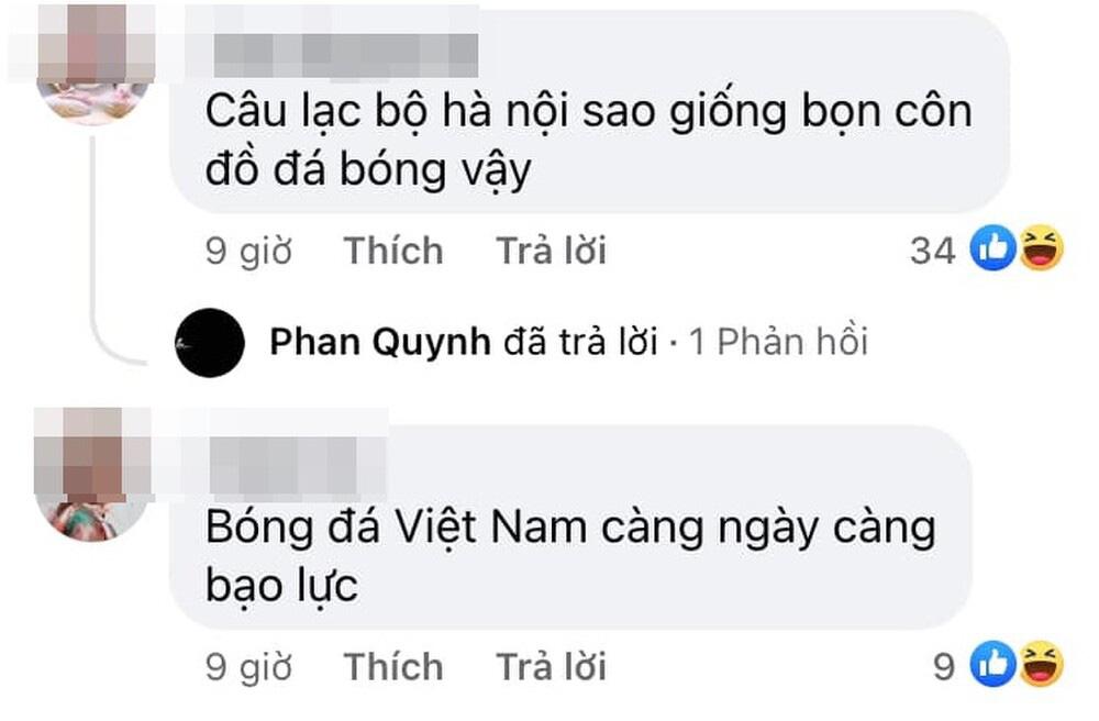 Hà Nội FC của bầu Hiển đá xấu, người hâm mộ đề xuất thi... võ thuật - Ảnh 1.