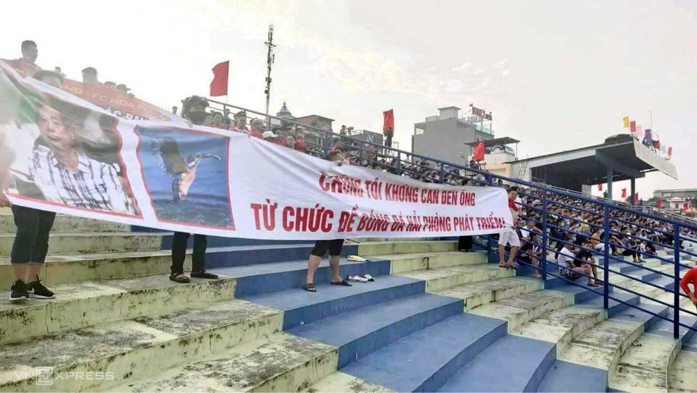 Hải Phòng thua Thanh Hóa, hội CĐV yêu cầu chủ tịch từ chức - Ảnh 1.