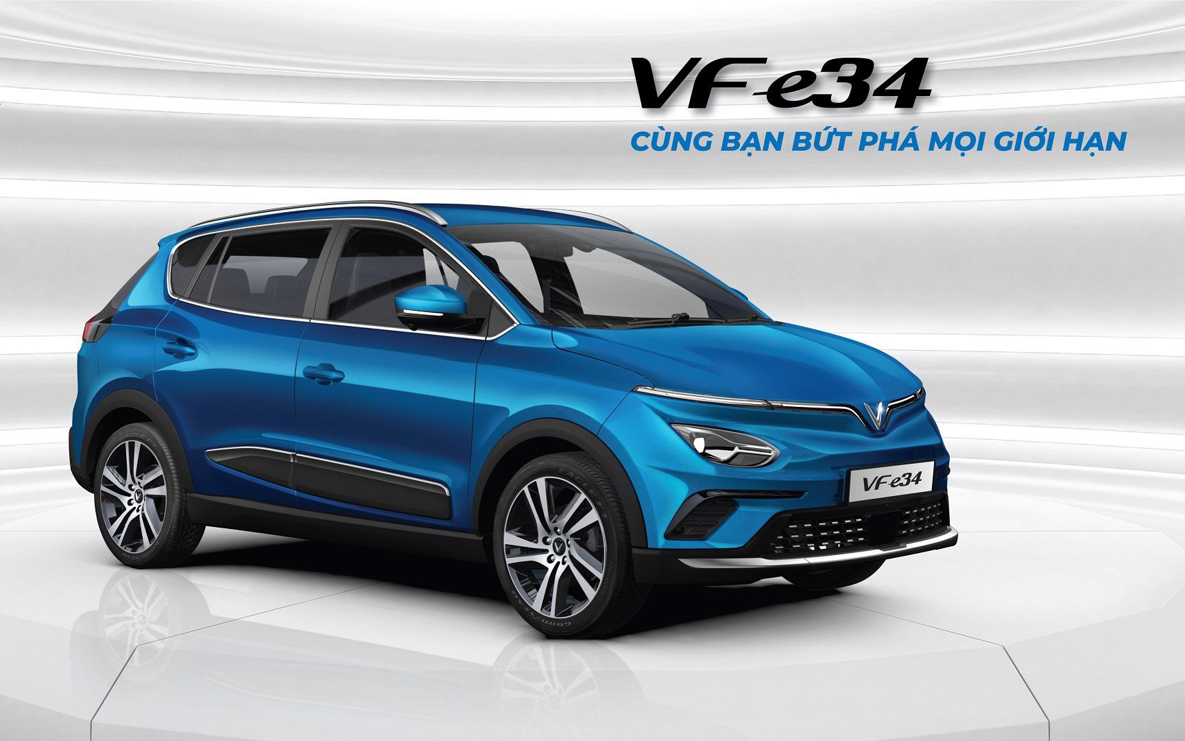 Được lợi gì khi đặt cọc sớm xe điện VinFast VF e34?