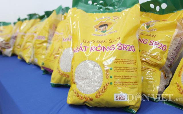 Gạo màu đặc sản Mắt Rồng SR20 từ giống lúa màu SR20