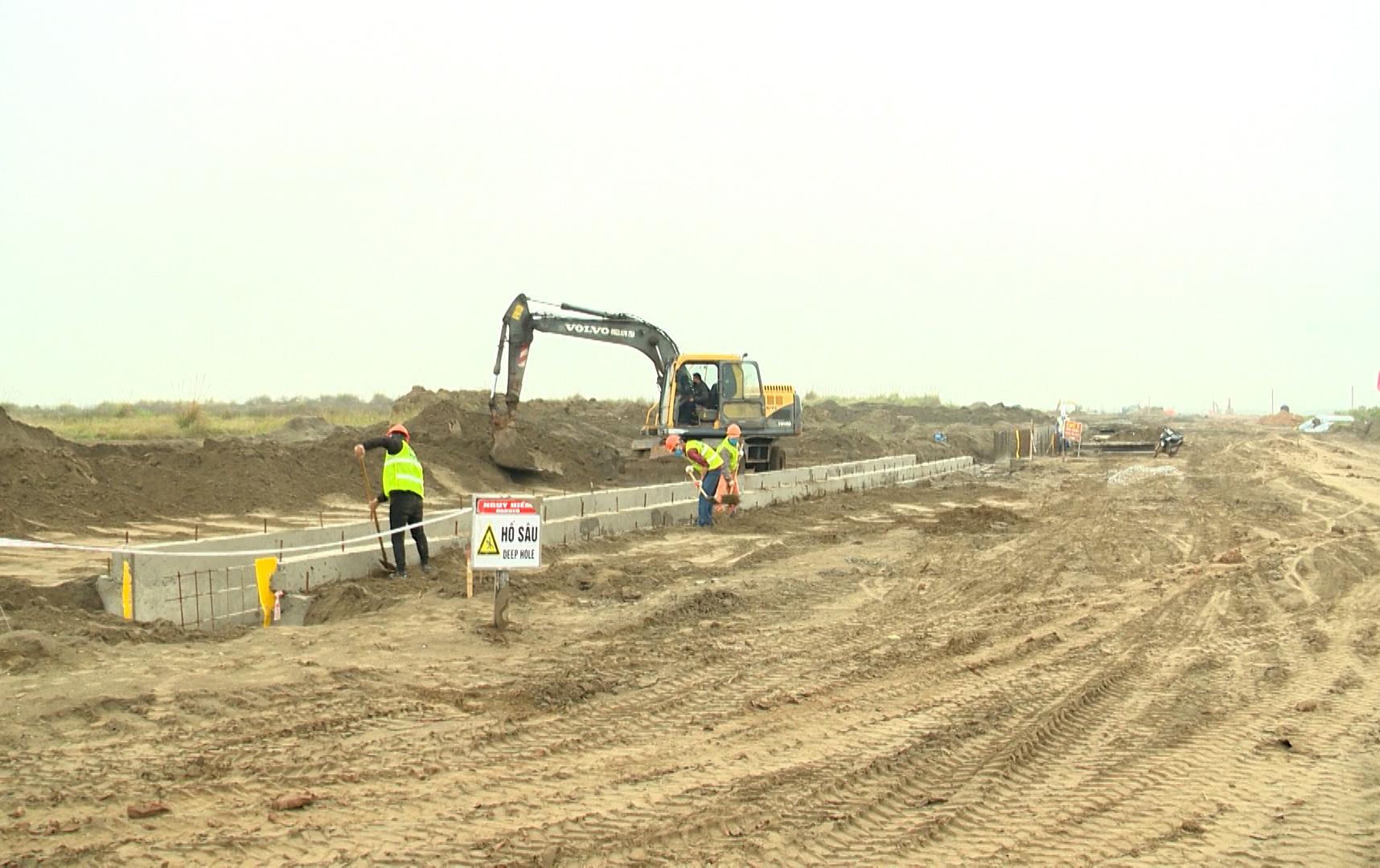 Đẩy nhanh xây dựng hạ tầng KCN Dịch vụ Đầm Nhà Mạc - Ảnh 1.