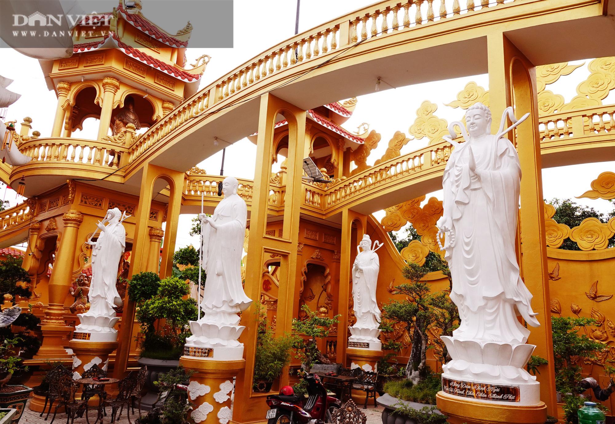 Ngôi chùa ở Cù Lao Giêng với quần thể tượng Phật đạt kỷ lục Việt Nam có gì đặc biệt? - Ảnh 3.