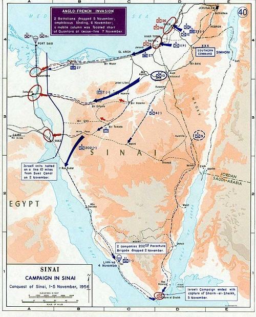 Liên quân Anh - Pháp và trận chiến thảm họa chiếm kênh đào Suez - Ảnh 3.