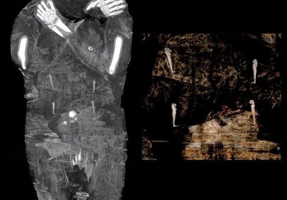 Phát hiện một xác ướp Ai Cập cổ đại đang mang thai 2.000 năm tuổi - Ảnh 5.