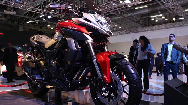Honda NX200 - mẫu xe mô tô đa dụng, cực kỳ linh hoạt  - Ảnh 2.