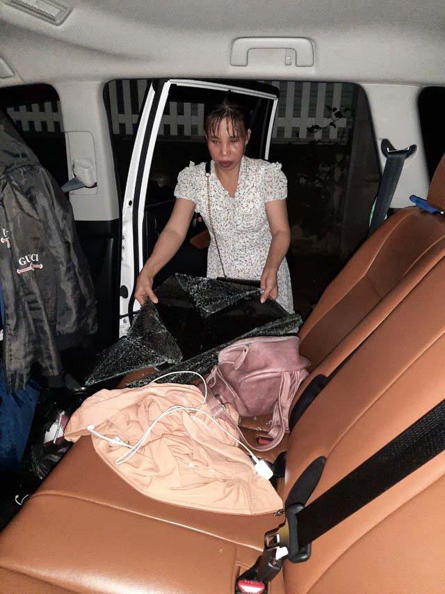 Vũng Tàu: Sốc, du khách mải tắm biển, bị kẻ gian cắt kính ô tô, khoắng sạch tiền - Ảnh 1.