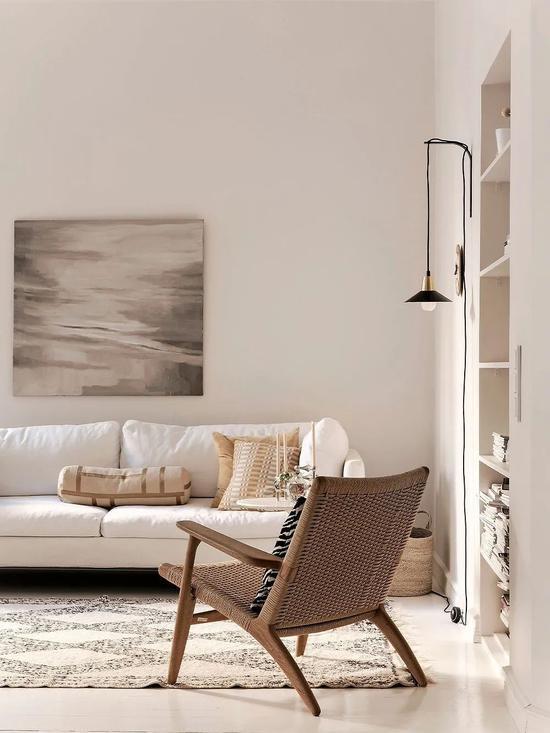 Cải tạo căn hộ cũ 80 mét vuông, sử dụng màu sắc tối giản một cách thông minh, diện tích lớn hơn gấp đôi! - Ảnh 1.