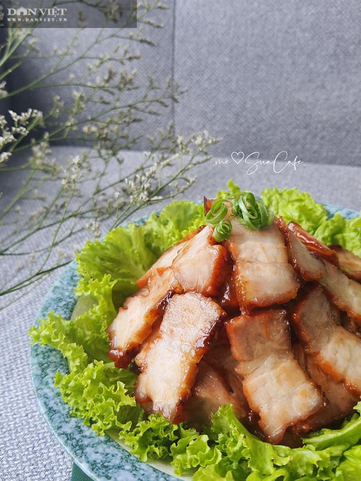 Cách làm thịt xá xíu đơn giản tại nhà không cần nướng - Ảnh 1.
