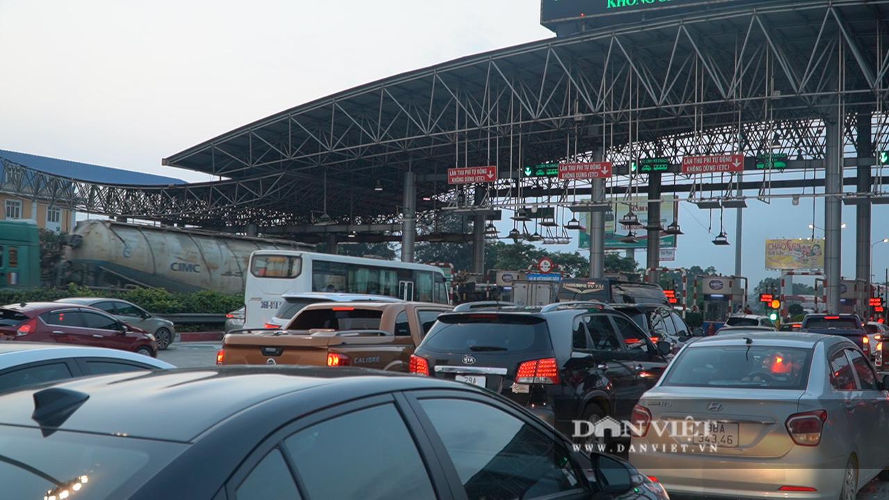 Giao thông ùn tắc từ trưa đến chiều tối tại cửa ngõ Hà  Nội  - Ảnh 9.