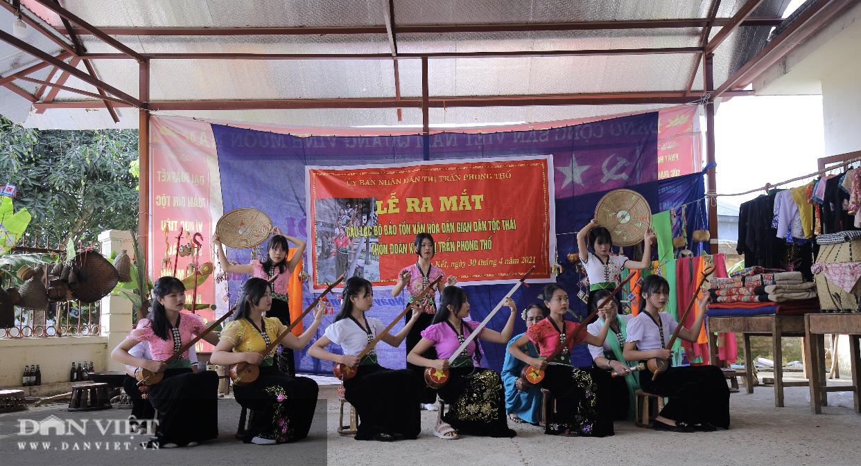 Lai Châu: Quan tâm bảo tồn và tôn vinh văn hóa dân tộc Thái - Ảnh 2.