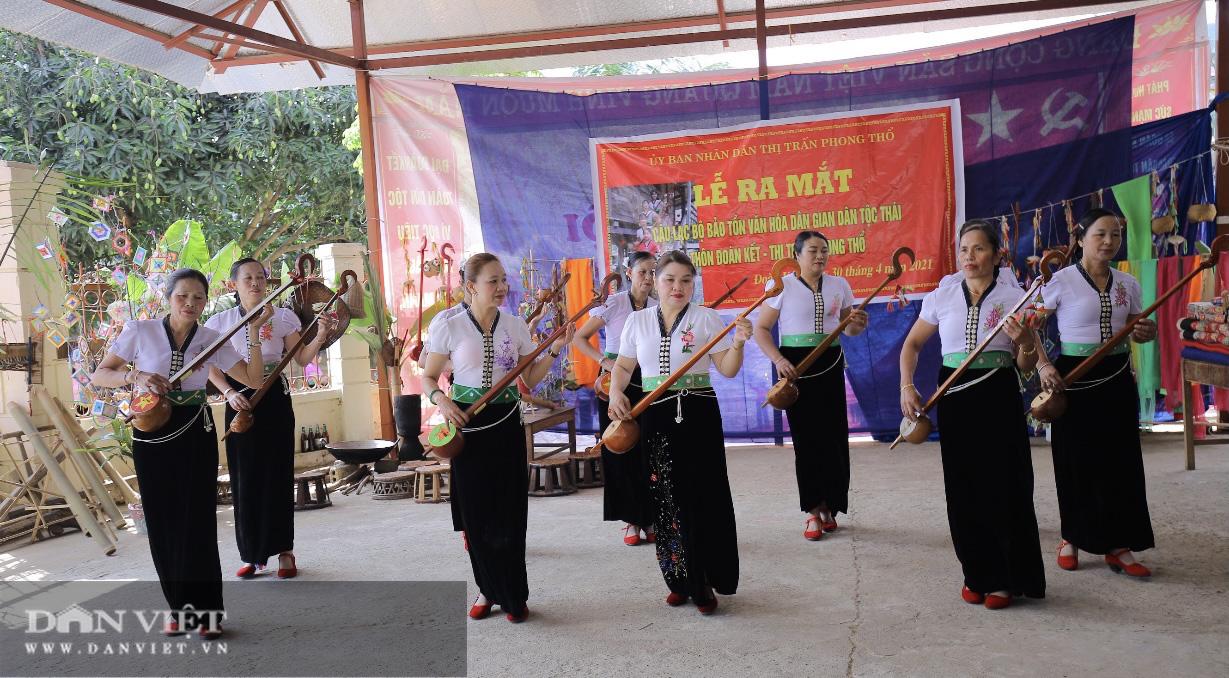 Lai Châu: Quan tâm bảo tồn và tôn vinh văn hóa dân tộc Thái - Ảnh 4.