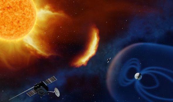 Bão mặt trời di chuyển với tốc độ 1,8 triệu km mỗi giờ đổ bộ vào Trái đất - Ảnh 1.