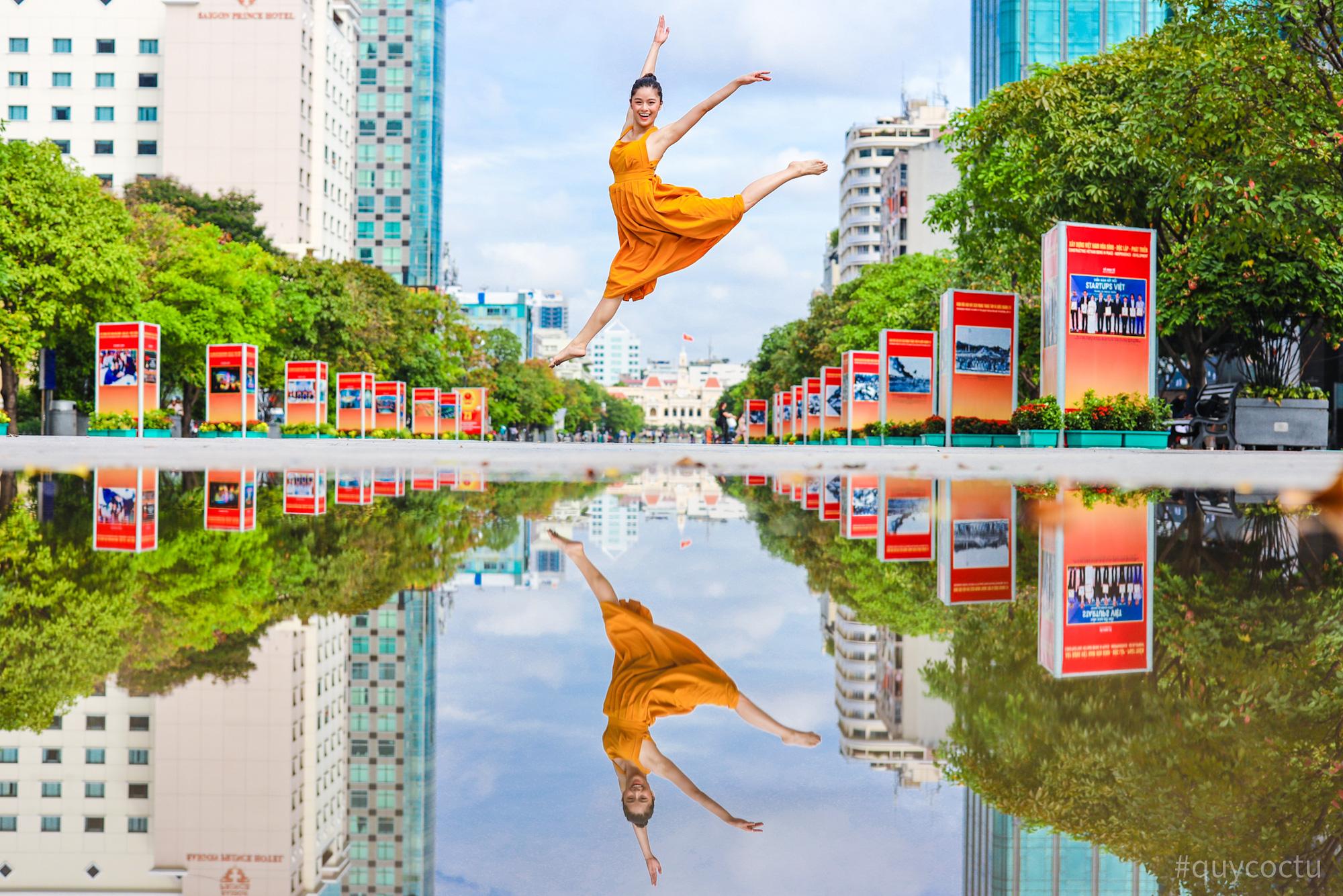 Dạo quanh TP Hồ Chí Minh cùng bloger du lịch nổi tiếng - Ảnh 2.