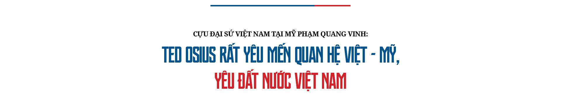 Cựu Đại sứ Mỹ tại Việt Nam Ted Osius: Hòa giải Việt Mỹ - Không gì là không thể - Ảnh 17.