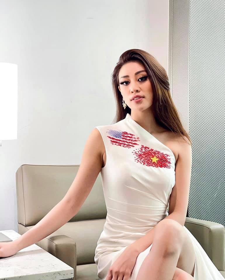 """Hoa hậu Khánh Vân chào nước Mỹ bằng màn catwalk """"thần sầu"""", lọt top 21 BXH Miss Universe - Ảnh 6."""