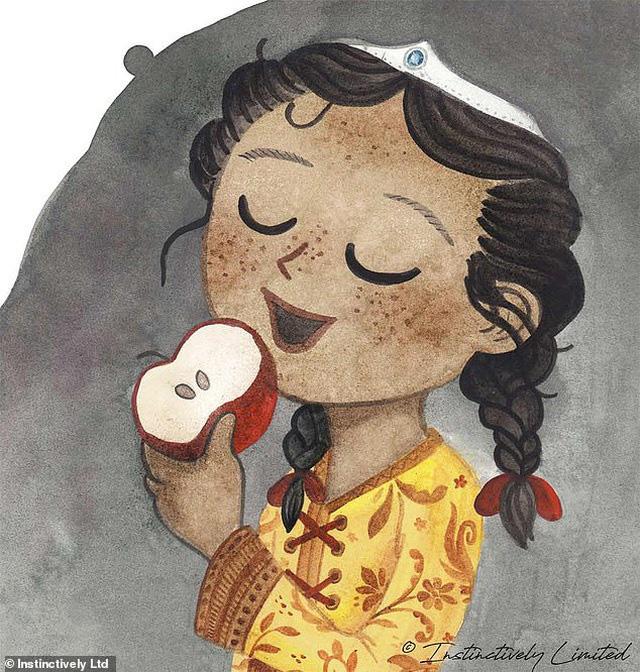 Những nụ hôn trong truyện cổ tích khiến phụ huynh lo lắng - Ảnh 4.