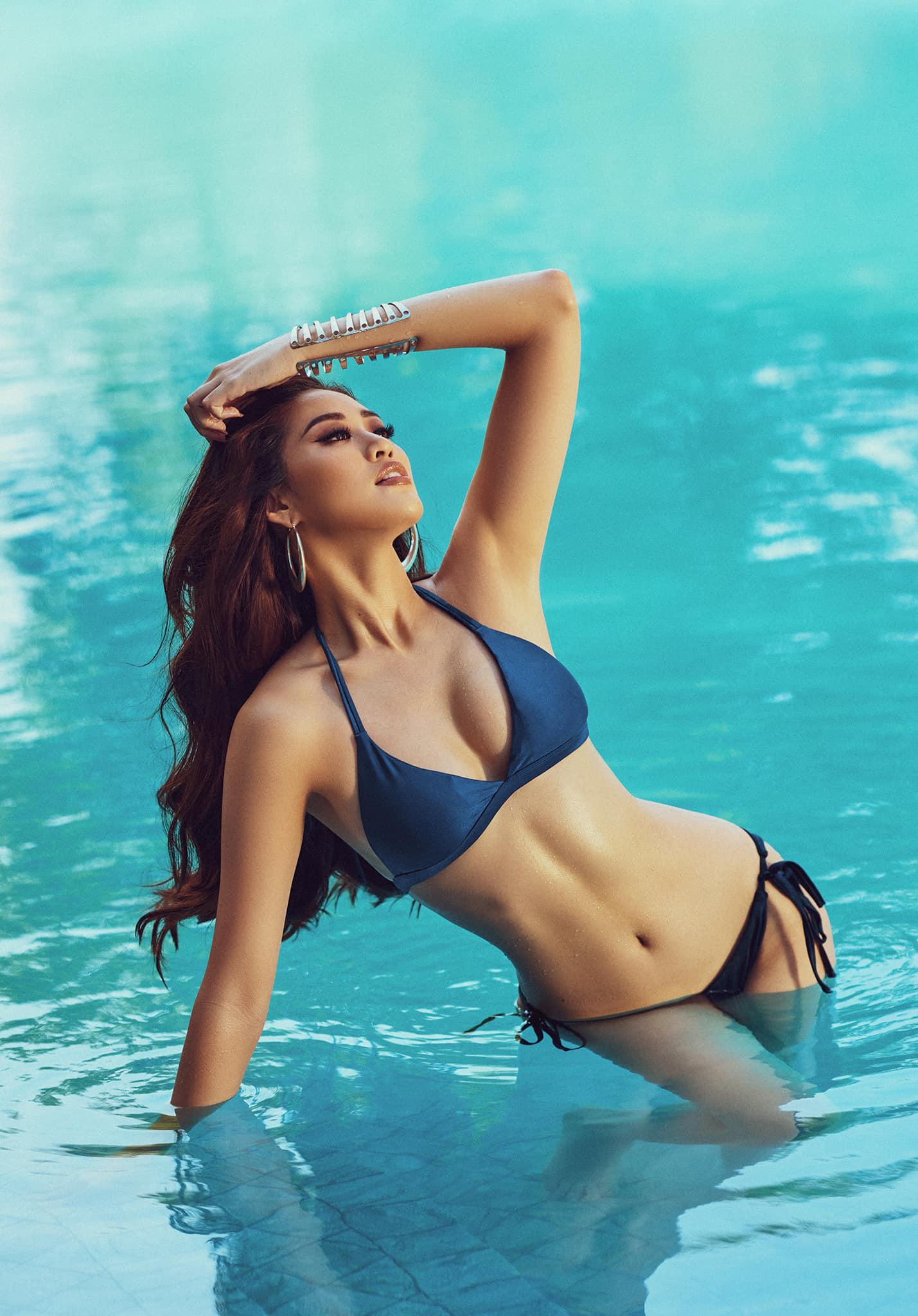 """Hoa hậu Khánh Vân chào nước Mỹ bằng màn catwalk """"thần sầu"""", lọt top 21 BXH Miss Universe - Ảnh 8."""