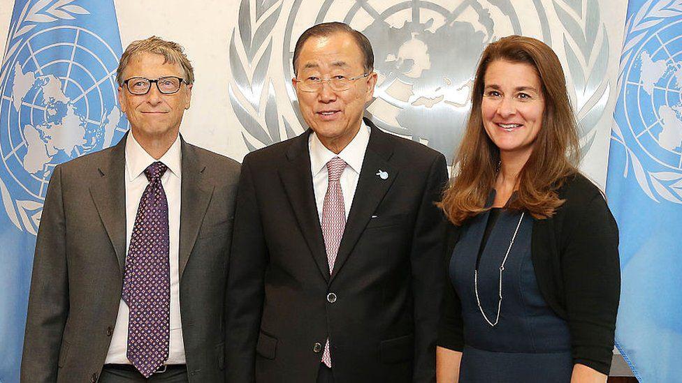 Nhìn lại những khoảnh khắc hạnh phúc trong quá khứ của vợ chồng Bill Gates - Ảnh 5.
