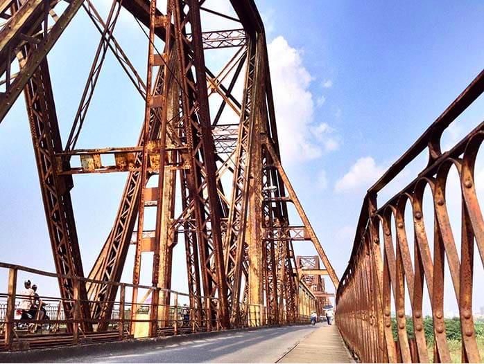 Cầu Long Biên xuống cấp khó khăn về kinh phí để bảo trì - Ảnh 1.
