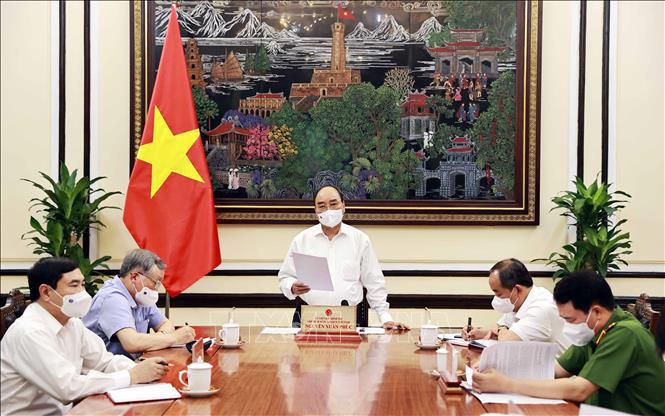 Chủ tịch nước Nguyễn Xuân phúc chủ trì họp đánh giá triển khai Luật Đặc xá 2018 - Ảnh 1.