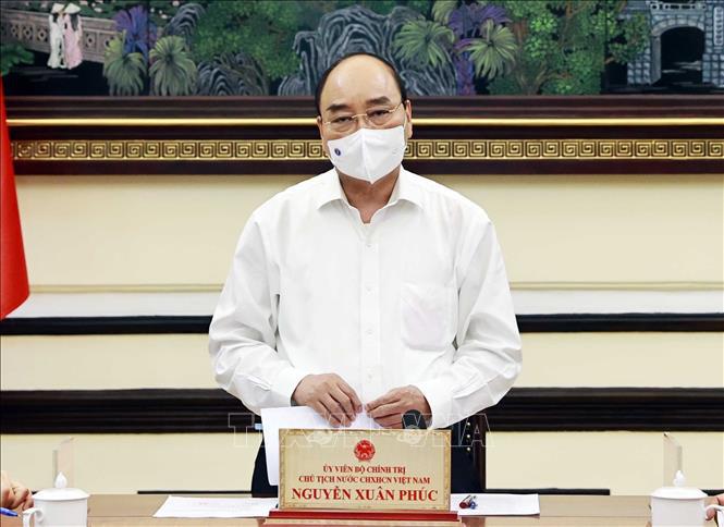 Chủ tịch nước Nguyễn Xuân phúc chủ trì họp đánh giá triển khai Luật Đặc xá 2018 - Ảnh 2.