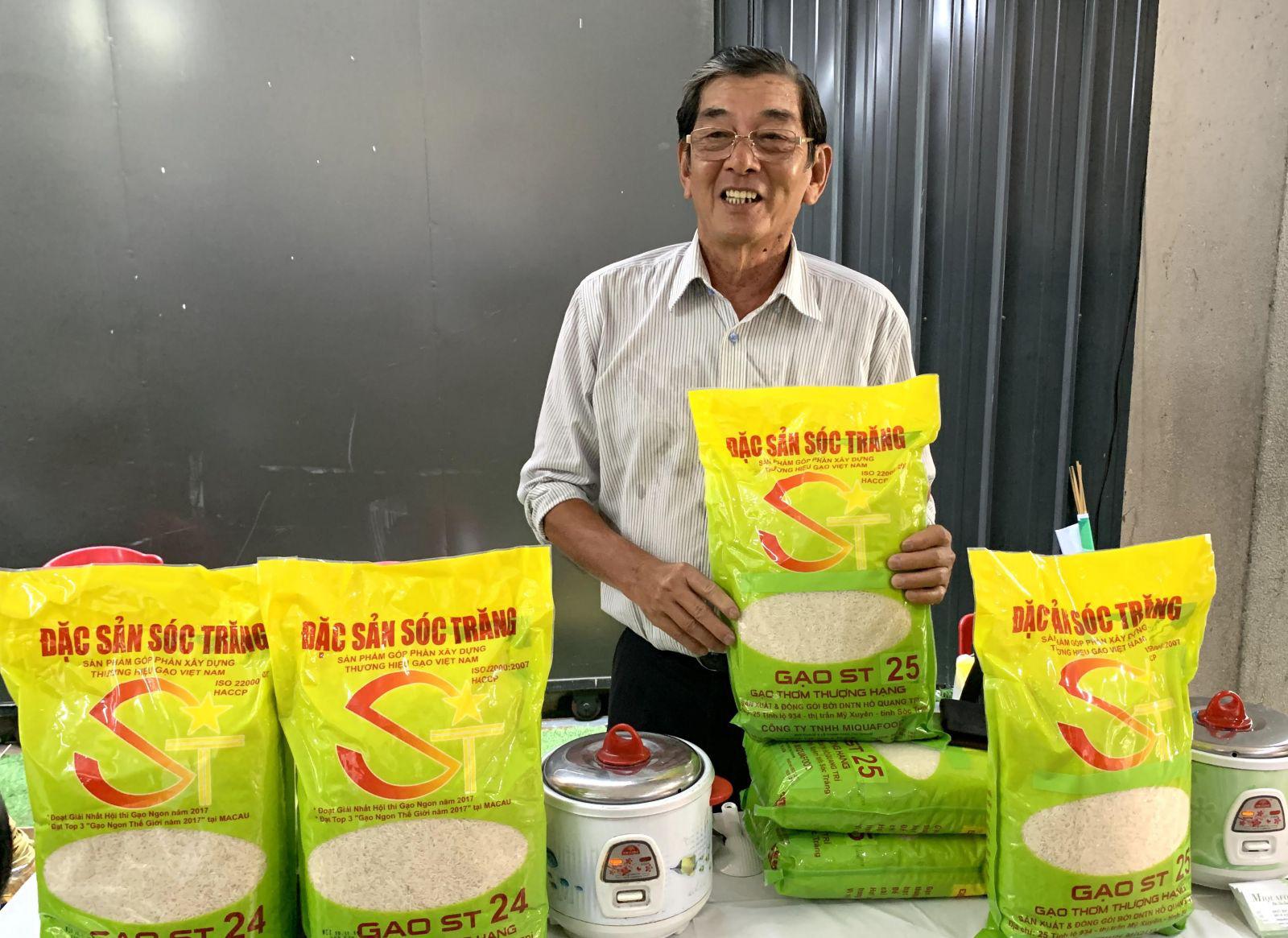 Gạo ST25 bị đăng ký nhãn hiệu ở Úc: Những việc ông Hồ Quang Cua cần làm để bảo vệ thương hiệu - Ảnh 2.