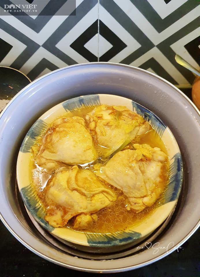 Đổi món với gà hấp xé sốt xì dầu - Ảnh 3.