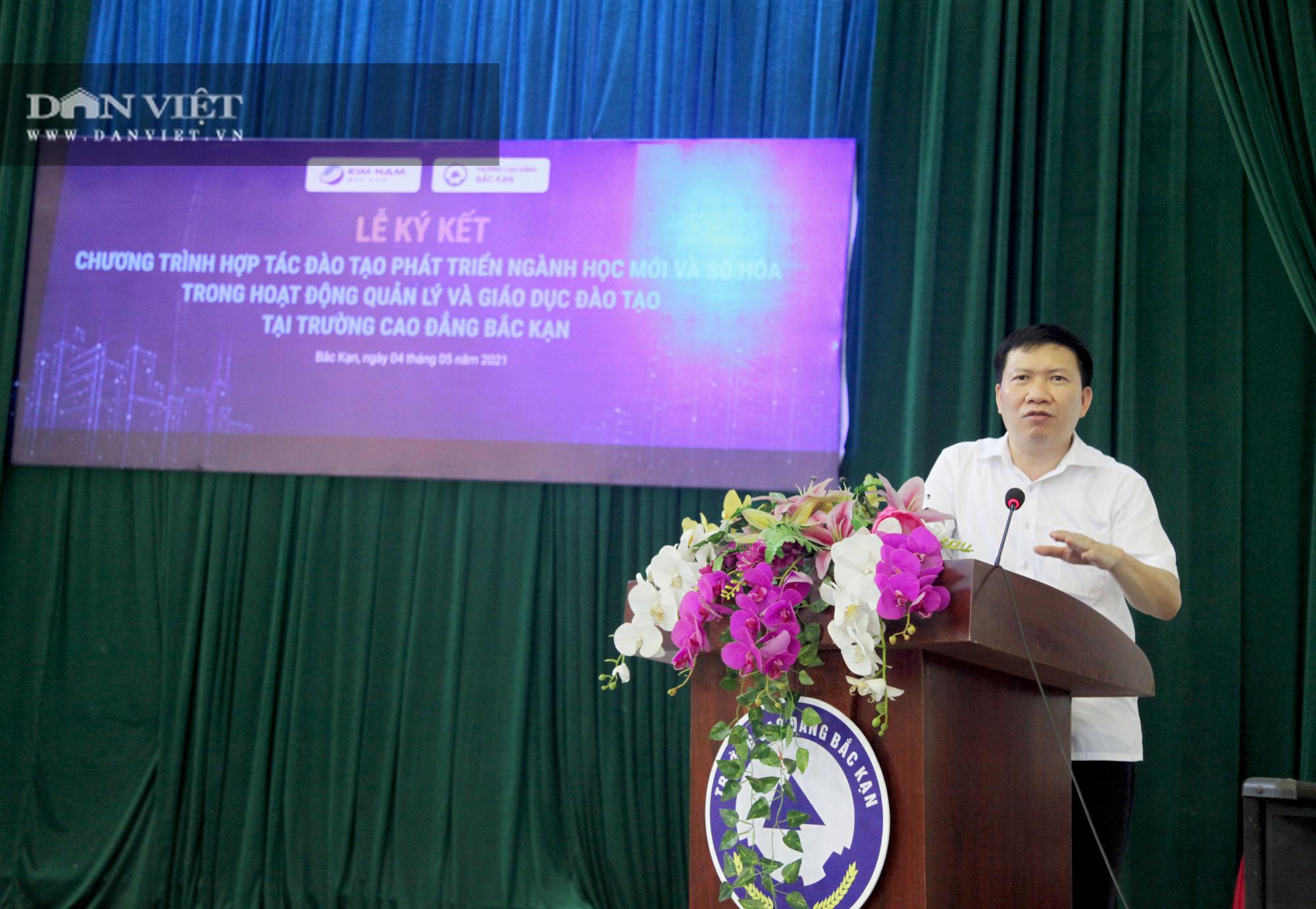 Bắc Kạn: Tập đoàn Kim Nam ký kế hợp tác cùng trường Cao đẳng Bắc Kạn - Ảnh 3.