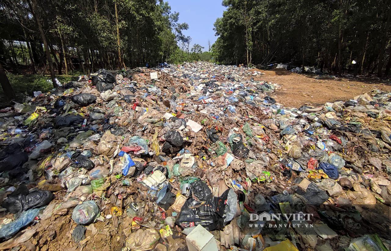 """Hà Nội: """"Bãi rác"""" ngồn ngộn bốc mùi hôi thối ở chân cầu cao tốc Láng-Hòa Lạc - Ảnh 11."""