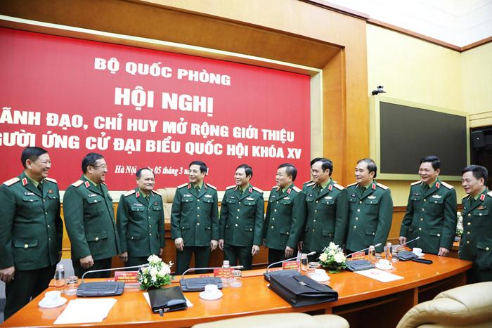 35 tướng lĩnh, sỹ quan quân đội ứng cử ĐBQH - Ảnh 4.