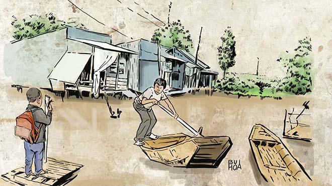 Tác giả 9X Hoàng Anh Linh: 'Hình ảnh làng quê tươi đẹp in hằn trong tâm khảm tôi' - Ảnh 3.