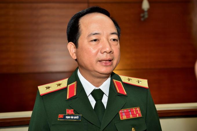 Trung tướng Trịnh Văn Quyết được Thủ tướng bổ nhiệm giữ chức vụ mới - Ảnh 1.