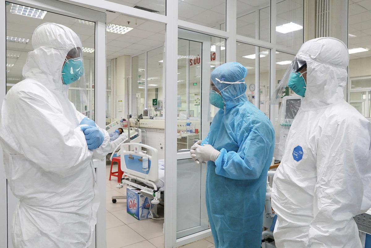 Xuất hiện chùm ca bệnh Covid-19 tại BV Bệnh Nhiệt đới T.Ư cơ sở 2 - Ảnh 1.