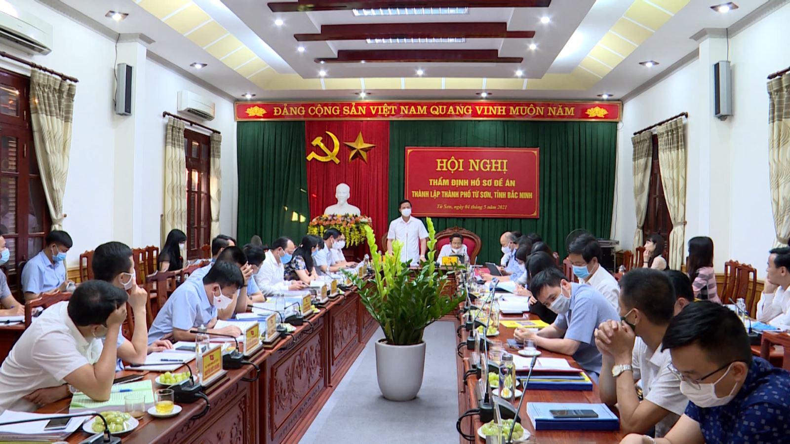 Bắc Ninh: Thành phố Từ Sơn sẽ trở thành trung tâm dịch vụ, tài chính ngân hàng của khu vực - Ảnh 1.