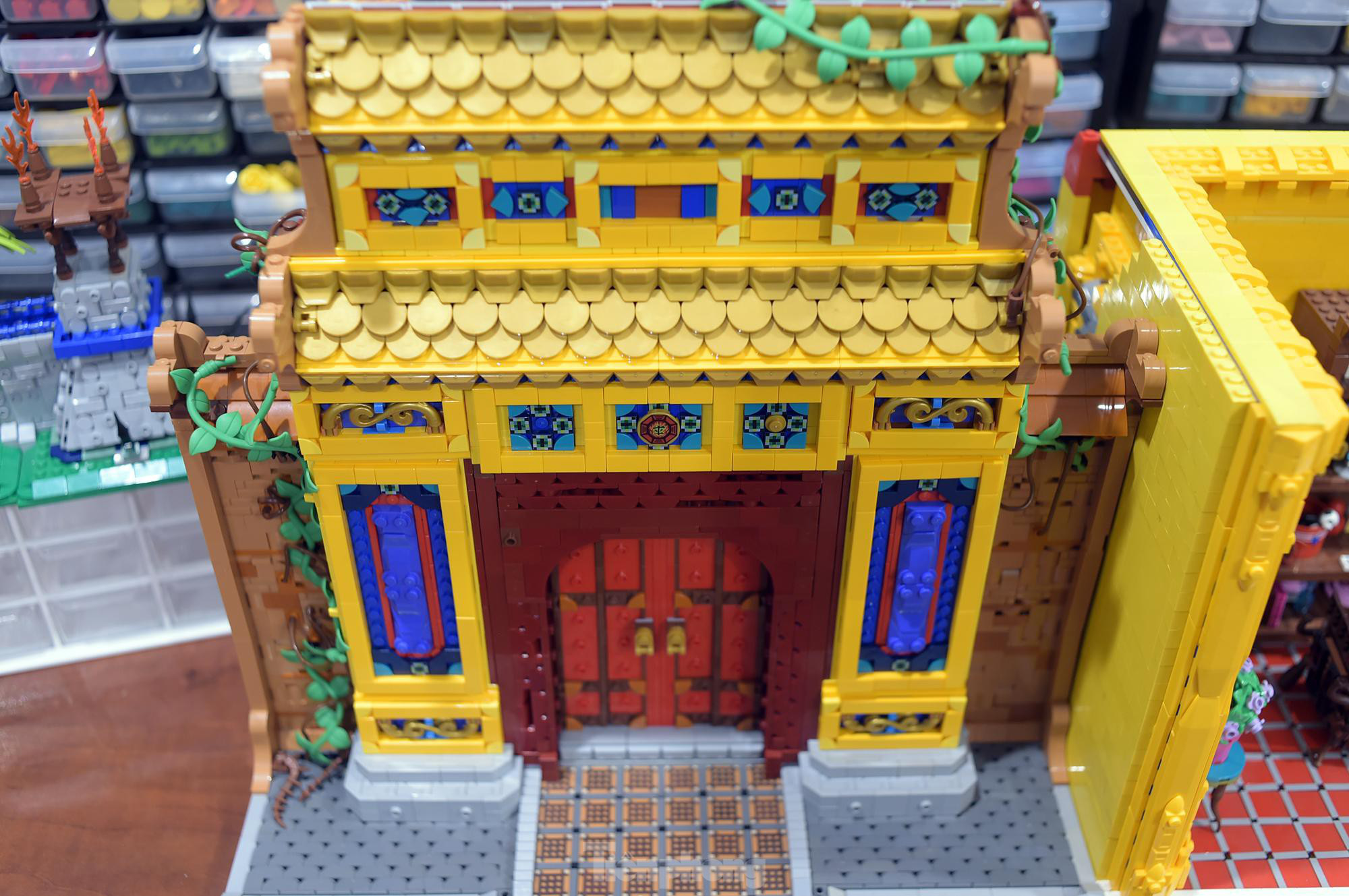 """Chàng trai Việt """"đóng"""" tàu Hoàng Sa, Trường Sa từ mô hình Lego, tri ân ngư dân bám biển - Ảnh 10."""