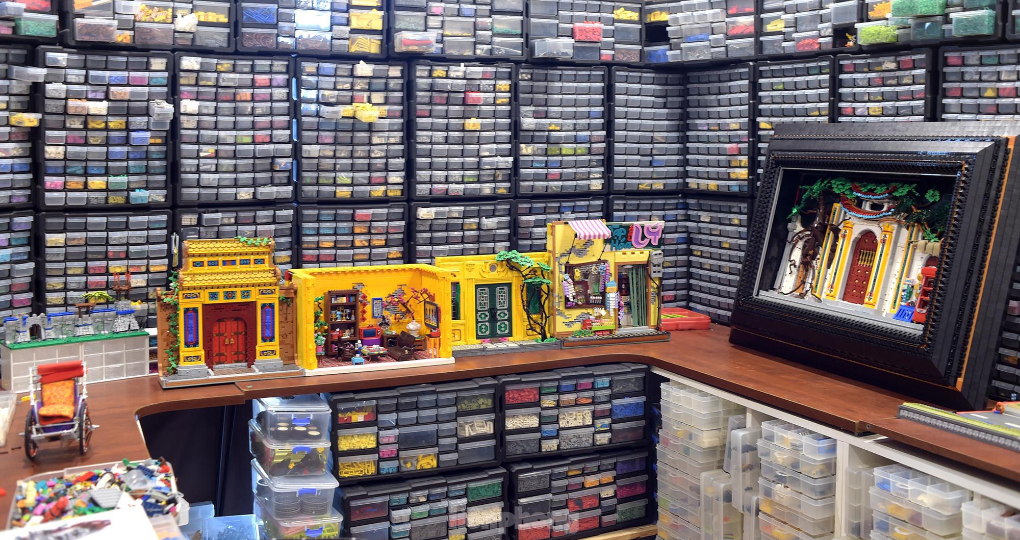 """Chàng trai Việt """"đóng"""" tàu Hoàng Sa, Trường Sa từ mô hình Lego, tri ân ngư dân bám biển - Ảnh 6."""