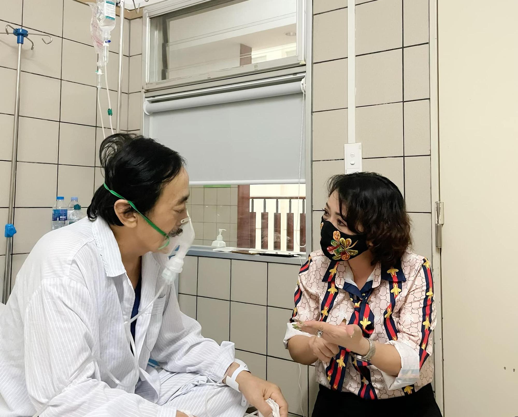 Nghệ sĩ Giang Còi bệnh trở nặng, ho ra máu... phải nhập viện gấp  - Ảnh 1.