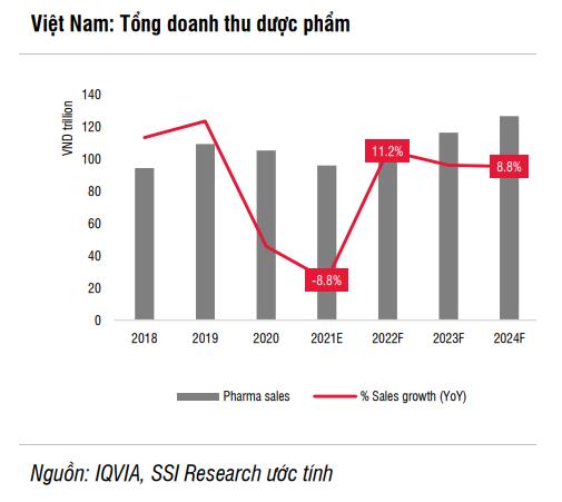 Ba lý do ngành dược tăng trưởng bất ngờ trong năm 2022 - Ảnh 3.